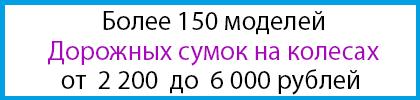 Дорожные сумки от 2200 до 6000 рублей